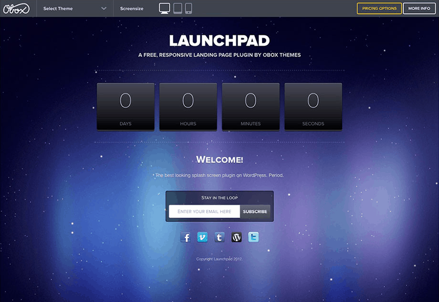 Launchpad WordPress Theme