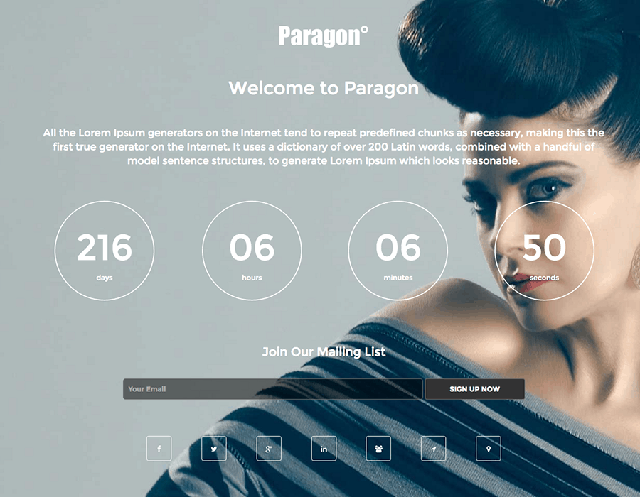 Paragon WordPress Theme