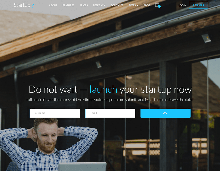 Startuply WordPress Theme